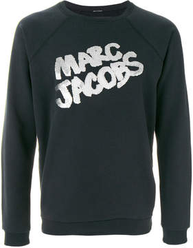Marc Jacobs metallic logo pullover