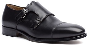 Tommy Hilfiger Final Sale-Leather Monk Strap Shoes