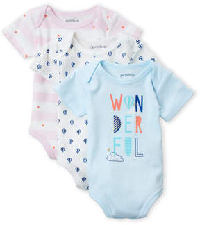 Petit Lem Newborn Girls) 3-Piece Bodysuit Set