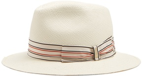 Borsalino Quito medium-brim panama hat