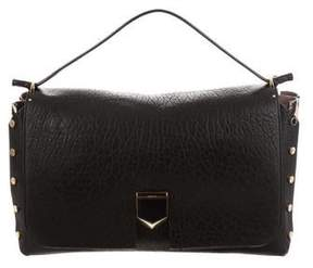 Jimmy Choo Leather Lockett Bag