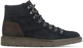Hogan lace up ankle boots
