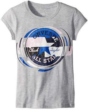 Converse Retro Throwback Chuck Patch Tee Girl's T Shirt