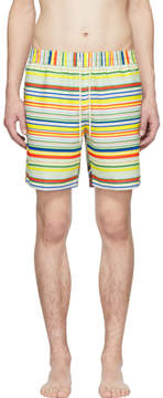 Loewe Multicolor Striped Swim Shorts