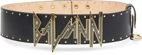 Balmain New Logo leather belt