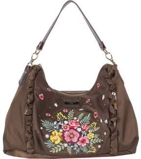 Nicole Lee Adira Embroidery Garden Handbag (Women's)