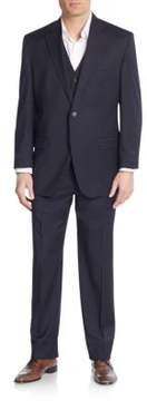 Lauren Ralph Lauren Regular-Fit Three-Piece Wool Suit