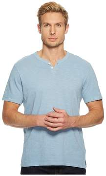 Joe's Jeans Wintz Short Sleeve Slub Henley Men's Clothing