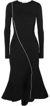 Esteban Cortazar Surf Stretch-jersey Midi Dress - Black