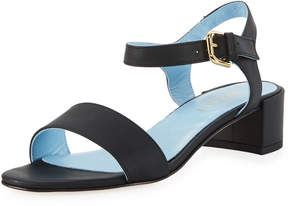 Sesto Meucci Cadyna Napa Leather City Sandal, Black