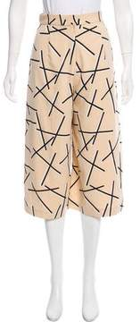 C/Meo Collective High-Rise Printed Culottes