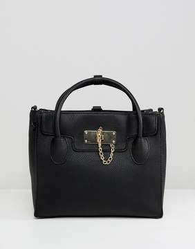 Aldo Minimal Backpack with Top Handle