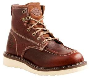 Dickies Men's Trader Leather Work Boots - Red Oak