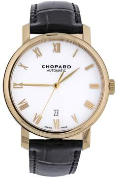Chopard Classic Automatic White Dial 18kt Yellow Gold Men's Watch