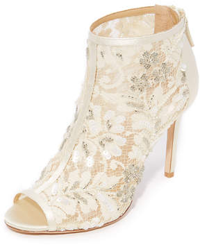 Badgley Mischka Moyra Peep Toe Pumps