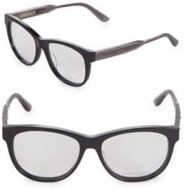 Bottega Veneta 54MM Cat Eye Optical Glasses