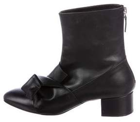 No.21 No. 21 Knot Ankle Boots