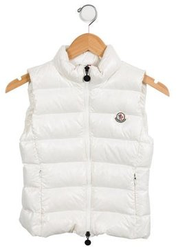 Moncler Girls' Ghany Puffer Vest