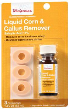 Walgreens Liquid Corn And Callus Remover