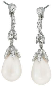 Carolee Linear Petal Drop Earrings