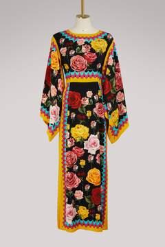 Dolce & Gabbana Flower kimono shape dress