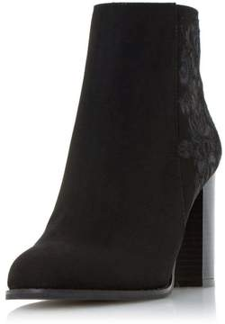 Head Over Heels *Head Over Heels By Dune Black Paradisea Ladies Ankle Boots
