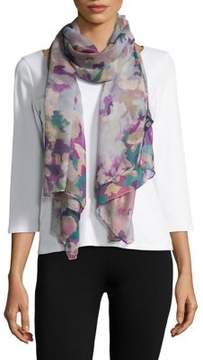 Lord & Taylor Pastel Camo Scarf