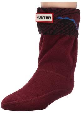 Hunter Original Wave Intarsia Socks (Toddler/Little Kid/Big Kid)