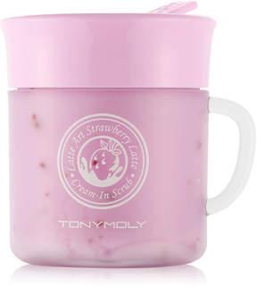 Tony Moly Tonymoly Latte Art Strawberry Latte Cream-In Scrub