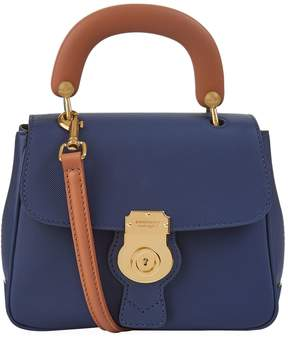 Burberry Small DK88 Top Handle Bag - BLUE - STYLE