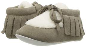 Burberry NB Shearling Shoe Kid's Shoes