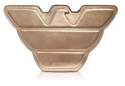 Emporio Armani Women's Gold/pink Leather Shoulder Bag.