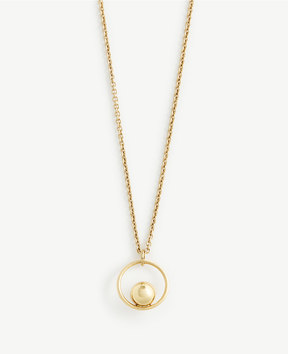 Ann Taylor Ball Drop Pendant
