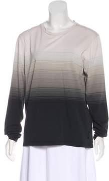 DKNY Printed Knit Top