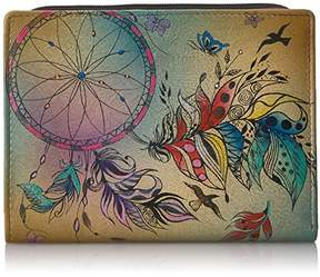 Anuschka Anna by Handpainted Leather Women's Wallet