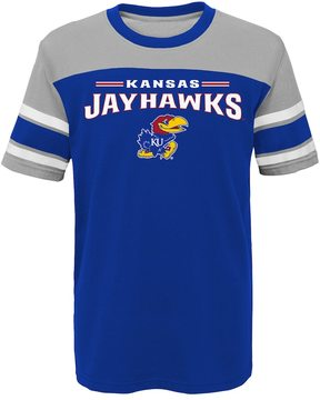 NCAA Boys 4-7 Kansas Jayhawks Loyalty Tee