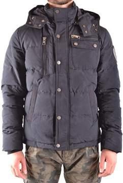 Aeronautica Militare Men's Black Polyester Outerwear Jacket.