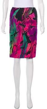 Christian Lacroix Knee-Length Pencil Skirt