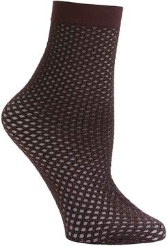 Emilio Cavallini Metallic Double Net Dark Socks