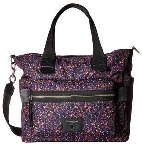 Marc Jacobs Mixed Berries Printed Babybag Handbags - BLUE MULTI - STYLE