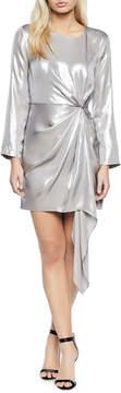 Bardot Shimmer Knotted Mini Cocktail Dress
