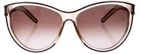 Chloé Oversize Cat-Eye Sunglasses