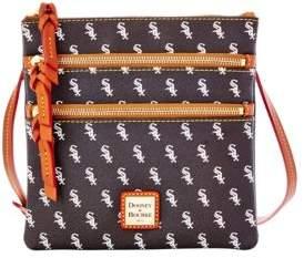 Dooney & Bourke White Sox Triple-Zip Crossbody Bag