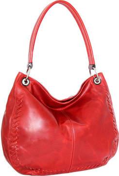 Nino Bossi Tessa Leather Hobo Bag (Women's)
