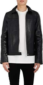 RtA Men's Double-Zip-Front Leather Jacket