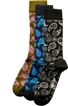 Happy Socks Set Of 3 Men's Socks