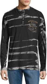 Affliction Men's Ac Reaper Cotton Henley