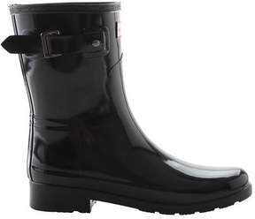 Hunter Women's Short Refined Gloss Rain Boot