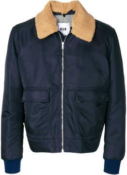 MSGM flap pockets zipped jacket