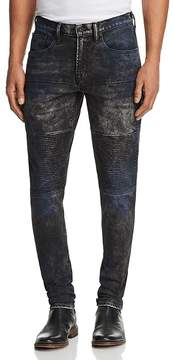 PRPS Goods & Co. Stretch Slim Fit Moto Jeans in Parade